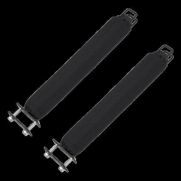 Upright Bars 40 cm Black