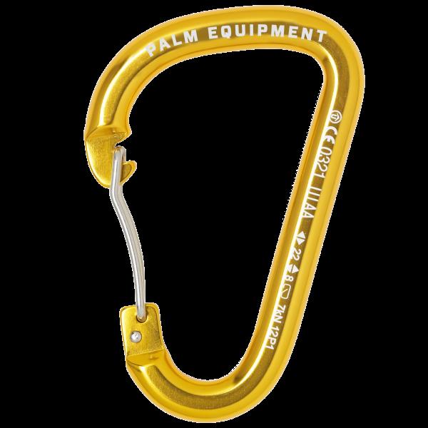 Palm Wire Gate Karabiner Gold