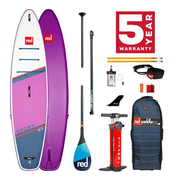 Sport 11'3 SE Carbon 100 Package