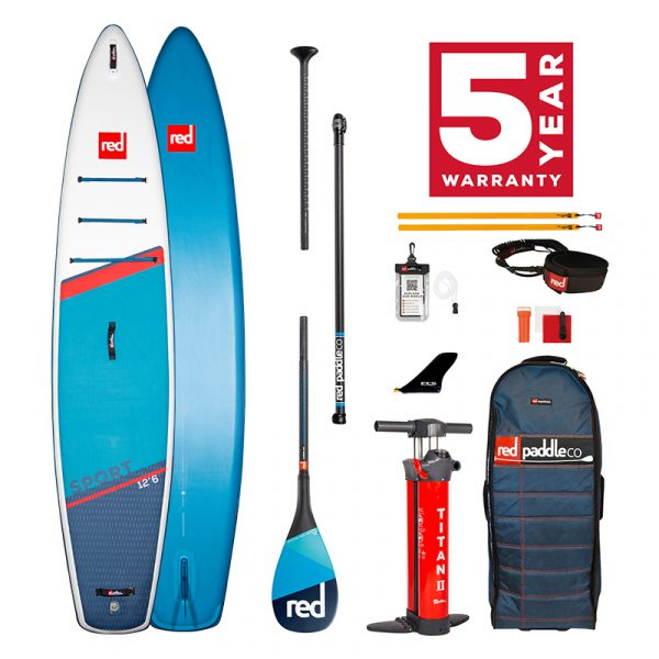 Sport 12'6 Carbon 100 Package