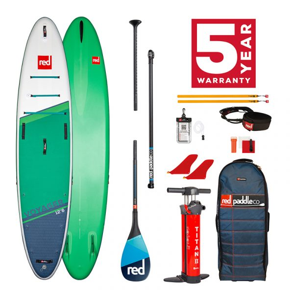 Voyager 12'6 Carbon 100 Package