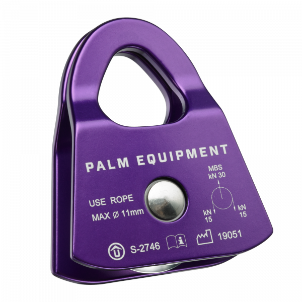 Palm Prussik Minding Pulley Purple