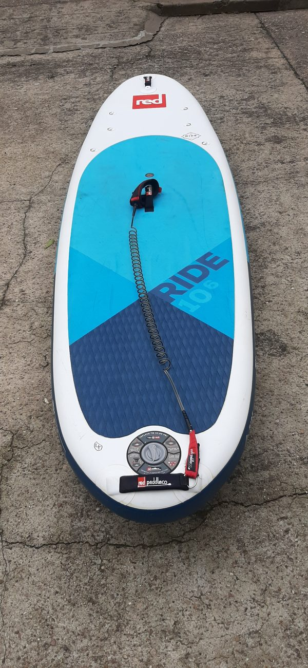 Ex Fleet Stand up paddle board red paddle co 10.6