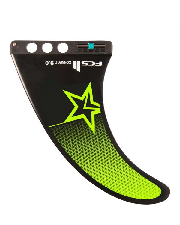 Jobe FCS Center SUP Fin 9 inch Lime