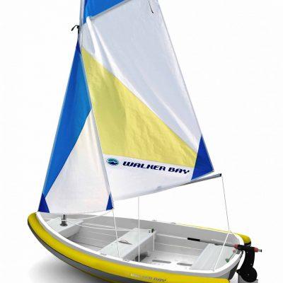 10 Breeze Sail/Tube Kit includes Jib - PVC