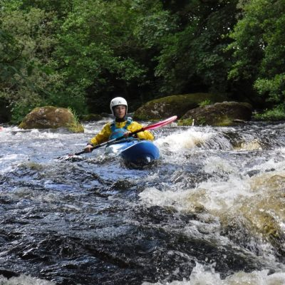 White Water Kayak Weekend