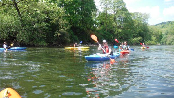 River Wye Kayak Trip