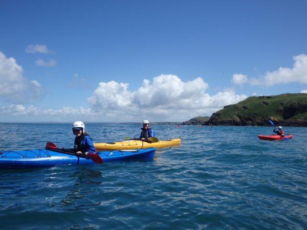 Skomer Sea Kayaking Weekend