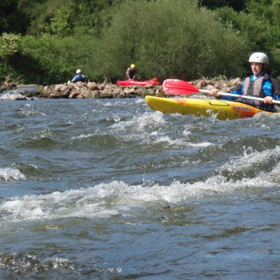 River Wye - Intro to Moving Water