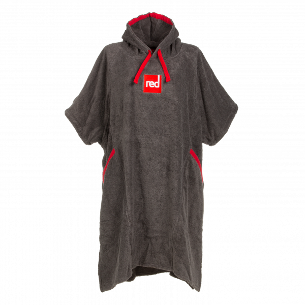Red Original Kids Deluxe Towelling Robe