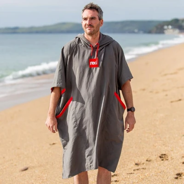Red Original Quick Dry Changing Robes