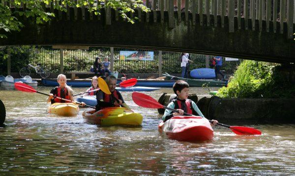 Family Kayak Experience