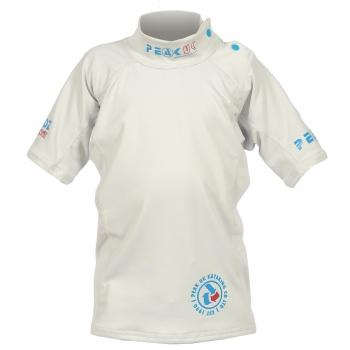 Peak UK Kids Teckwik Short Sleeved Rash Vest