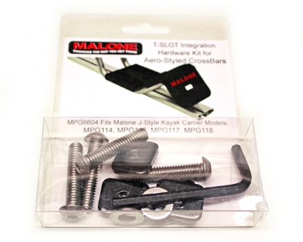 Malone T-Slot Mounting Kit for Aero Style Bars MPG915 (For MPG110, 112, 115, 119)