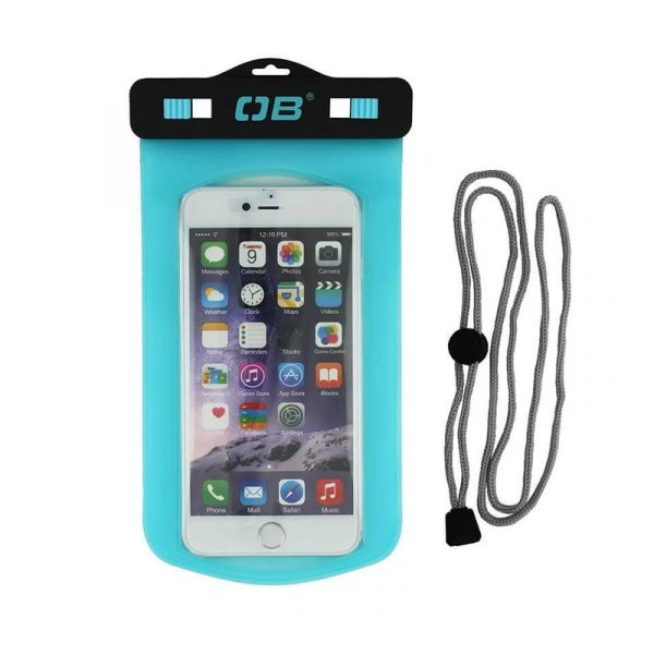 OverBoard Window Phone Case Large Aqua