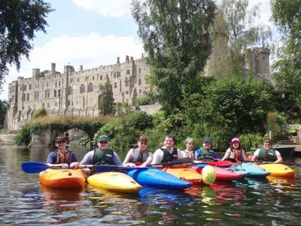 Canoe or Kayak to Warwick Castle