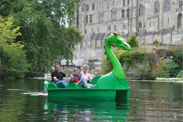 Leisure Green Dragon Pedalo