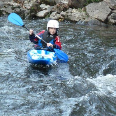 Junior Advanced Kayak Skills Course